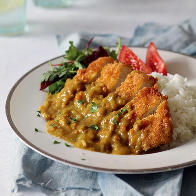Katsu Curry With S B Golden Curry Sauce Mix Eat Japan